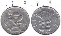 Изображение Монеты Европа Сан-Марино 10 лир 1995 Алюминий UNC
