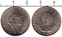 Изображение Монеты Сан-Марино 100 лир 1997 Медно-никель UNC
