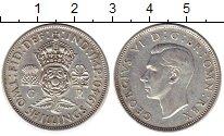 Изображение Монеты Великобритания 2 шиллинга 1940 Серебро VF Георг VI