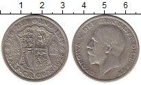Изображение Монеты Великобритания 1/2 кроны 1928 Серебро VF Георг V