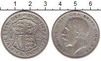 Изображение Монеты Европа Великобритания 1/2 кроны 1929 Серебро VF