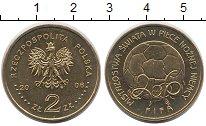 Изображение Мелочь Польша 2 злотых 2006 Латунь UNC
