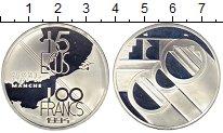 Изображение Монеты Европа Франция 100 франков 1994 Серебро Proof