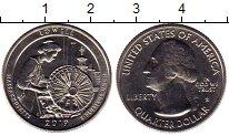 Изображение Мелочь Северная Америка США 1/4 доллара 2019 Медно-никель UNC