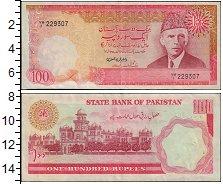 Изображение Банкноты Азия Пакистан 100 рупий 0  XF-