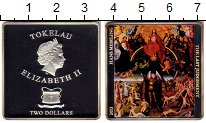Изображение Монеты Новая Зеландия Токелау 2 доллара 2013 Серебро Proof-