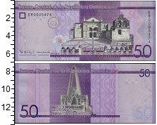 Изображение Банкноты Доминиканская республика 50 песо 2016  UNC