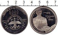 Изображение Монеты Колумбия 5000 песо 2017 Медно-никель UNC Антонио Нариньо