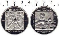 Изображение Монеты СНГ Украина 10 гривен 2003 Серебро Proof