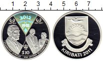 Изображение Монеты Кирибати 10 долларов 2011 Серебро Proof