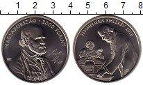 Изображение Монеты Европа Венгрия 2000 форинтов 2018 Медно-никель UNC