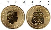 Изображение Монеты Австралия и Океания Австралия 1 доллар 2016 Латунь UNC