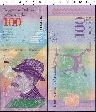 Изображение Банкноты Венесуэла 100 боливар 2018  UNC