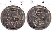 Изображение Мелочь ЮАР 2 ранда 2004 Медно-никель XF