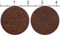 Изображение Монеты Польша 5 грош 1938 Бронза VF