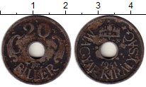 Изображение Монеты Венгрия 20 филлеров 1941 Железо VF