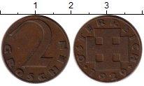 Изображение Монеты Европа Австрия 2 гроша 1929 Бронза VF