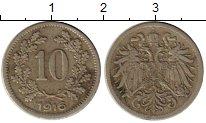 Изображение Монеты Австрия 10 крейцеров 1916 Медно-никель VF