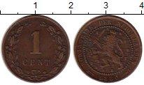 Изображение Монеты Европа Нидерланды 1 цент 1880 Медь XF