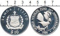 Изображение Монеты Австралия и Океания Самоа 10 долларов 1986 Серебро