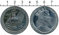 Изображение Монеты Великобритания Остров Мэн 1 крона 1987 Медно-никель Proof-