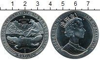 Изображение Монеты Великобритания Остров Мэн 1 крона 1988 Медно-никель Proof-