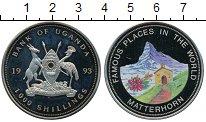 Изображение Монеты Уганда 1000 шиллингов 1993 Медно-никель Proof-