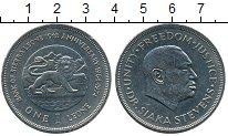 Изображение Монеты Африка Сьерра-Леоне 1 леоне 1974 Медно-никель XF