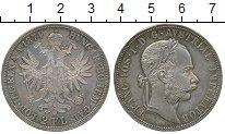 Изображение Монеты Австрия 2 флорина 1874 Серебро XF+ Франс Иосиф I