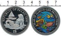 Изображение Монеты Австралия и Океания Палау 1 доллар 1992 Медно-никель Proof