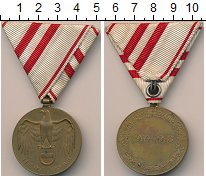 Изображение Монеты Европа Австрия Медаль 1918 Бронза UNC-