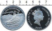 Изображение Монеты Соломоновы острова 25 долларов 2005 Серебро Proof- Корабль