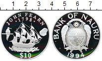 Изображение Монеты Австралия и Океания Науру 10 долларов 1994 Серебро Proof-