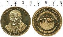 Изображение Монеты Либерия 5 долларов 2005 Позолота UNC-