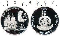 Изображение Монеты Австралия и Океания Вануату 50 вату 1993 Серебро Proof-