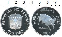 Изображение Монеты Азия Филиппины 200 писо 1987 Серебро Proof-
