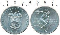 Изображение Монеты Северная Америка Панама 5 бальбоа 1970 Серебро XF