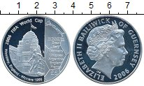 Изображение Монеты Великобритания Гернси 5 фунтов 2006 Серебро Proof-