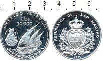 Изображение Монеты Сан-Марино 10000 лир 1995 Серебро Proof-