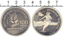 Изображение Монеты Европа Франция 100 франков 1989 Серебро Proof-