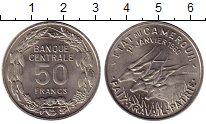 Изображение Монеты Африка Камерун 50 франков 1960 Медно-никель UNC