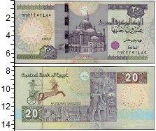 Изображение Банкноты Египет 20 фунтов 2017  UNC