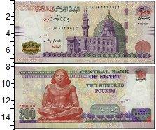 Изображение Банкноты Египет 200 фунтов 2018  UNC