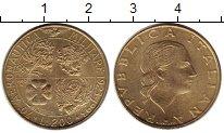 Изображение Монеты Италия 200 лир 1993 Латунь UNC-