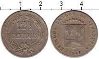 Изображение Монеты Южная Америка Венесуэла 12 1/2 сентима 1946 Медно-никель VF
