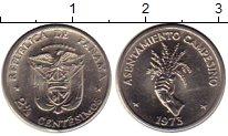 Изображение Монеты Северная Америка Панама 2 1/2 сентесимо 1973 Медно-никель UNC-