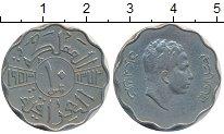 Изображение Монеты Азия Ирак 10 филс 1953 Медно-никель XF
