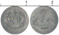 Изображение Монеты Северная Америка Гватемала 1/4 реала 1889 Серебро XF