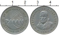 Изображение Монеты Северная Америка Никарагуа 25 сентаво 1952 Медно-никель XF