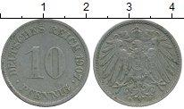 Изображение Монеты Европа Германия 10 пфеннигов 1907 Медно-никель XF-